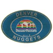 Denver Nuggets Heritage Oval Wall Sign