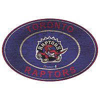 Toronto Raptors Heritage Oval Wall Sign