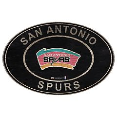 San Antonio Spurs Heritage Oval Wall Sign