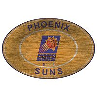 Phoenix Suns Heritage Oval Wall Sign
