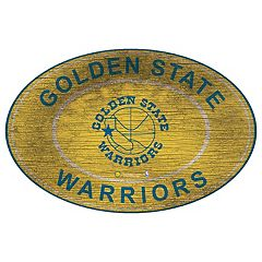 Golden State Warriors Heritage Oval Wall Sign