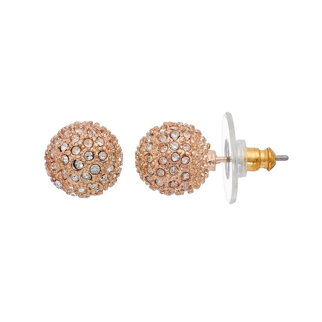 Napier Fireball Stud Earrings