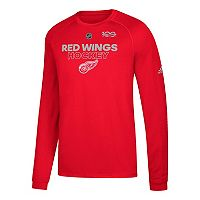 Men's adidas Detroit Red Wings Primary Position Tee