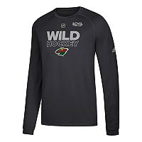 Men's adidas Minnesota Wild Primary Position Tee