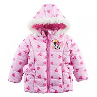 Disney's Minnie Mouse Toddler Girl Heavyweight Jacket
