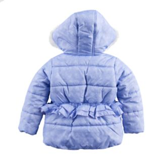 "Toddler Girl Paw Patrol Skye & Everest ""Best Pups Ever"" Heavyweight Jacket"