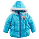 Disney's Frozen Anna & Elsa Toddler Girl Heavyweight Jacket