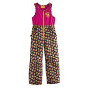 Girls 4-6x Emoji Heavyweight Bib Snow Pants