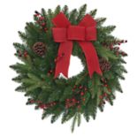 St. Nicholas Square® Pre-Lit Indoor / Outdoor Christmas Wreath