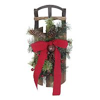 St. Nicholas Square® Light-Up Rustic Sled Wall Decor