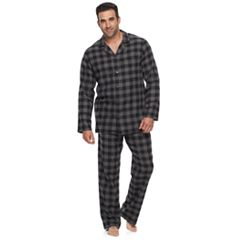 Big & Tall Croft & Barrow® Flannel Pajama Set