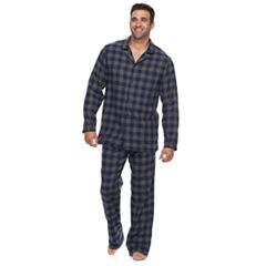 Big & Tall Croft & Barrow® Flannel Pajama Set