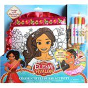 Disney's Elena of Avalor Color 'N Style Purse