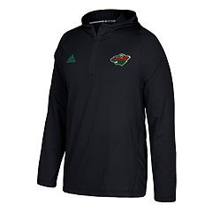 Men's adidas Minnesota Wild Authentic Training Pullover
