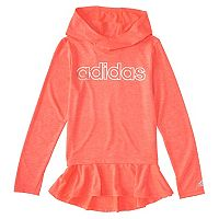 Girls 4-6x adidas High Low Flounce Hoodie
