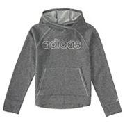 Girls 4-6x adidas Sparkle Logo Pullover Hoodie