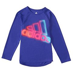 Toddler Girl adidas Neon Lights Graphic Tee