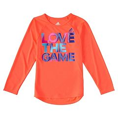 Toddler Girl adidas 'Love the Game' Graphic Tee