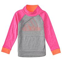 Toddler Girl adidas Colorblock Mockneck Sweatshirt