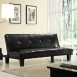 HomeVance Bento Manmade Leather Mini Sofa Bed