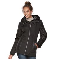 Women's d.e.t.a.i.l.s Mixed-Media Puffer Jacket