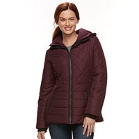 Women's Details Quilted Puffer Jacket