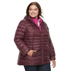 Plus Size d.e.t.a.i.l.s Down Vest & Jacket Set