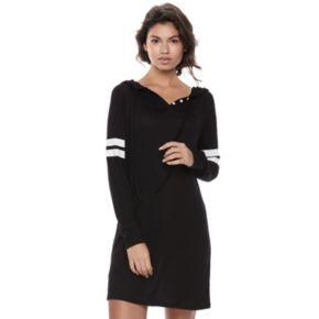 Juniors' SO® Sporty Long Sleeve Dress