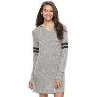Juniors' SO® Sporty Long Sleeve Dress