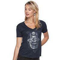 Juniors' Fifth Sun Hamsa Hand Graphic Tee