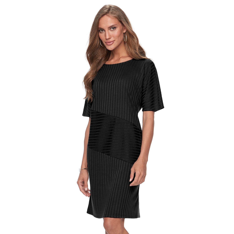 2962134_Black?wid=240&hei=240&op_sharpen=1 womens apt 9 sweater dresses dresses, clothing kohl's,Kohls Apt 9 Womens Clothing