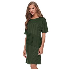 Women's Apt. 9® Solid Ribbed Dress