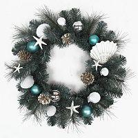 St. Nicholas Square® Coastal Artificial Christmas Wreath