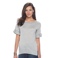 Womens Short Sleeve Sweaters - Tops, Clothing | Kohl's