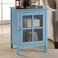Window Pane Storage Cabinet