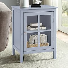 Window Pane Storage Cabinet