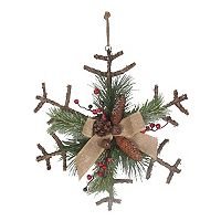 St. Nicholas Square® Artificial Branch Snowflake Wall Decor