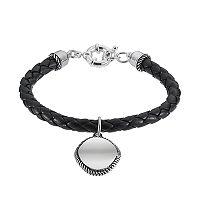 Napier Black Woven Bracelet