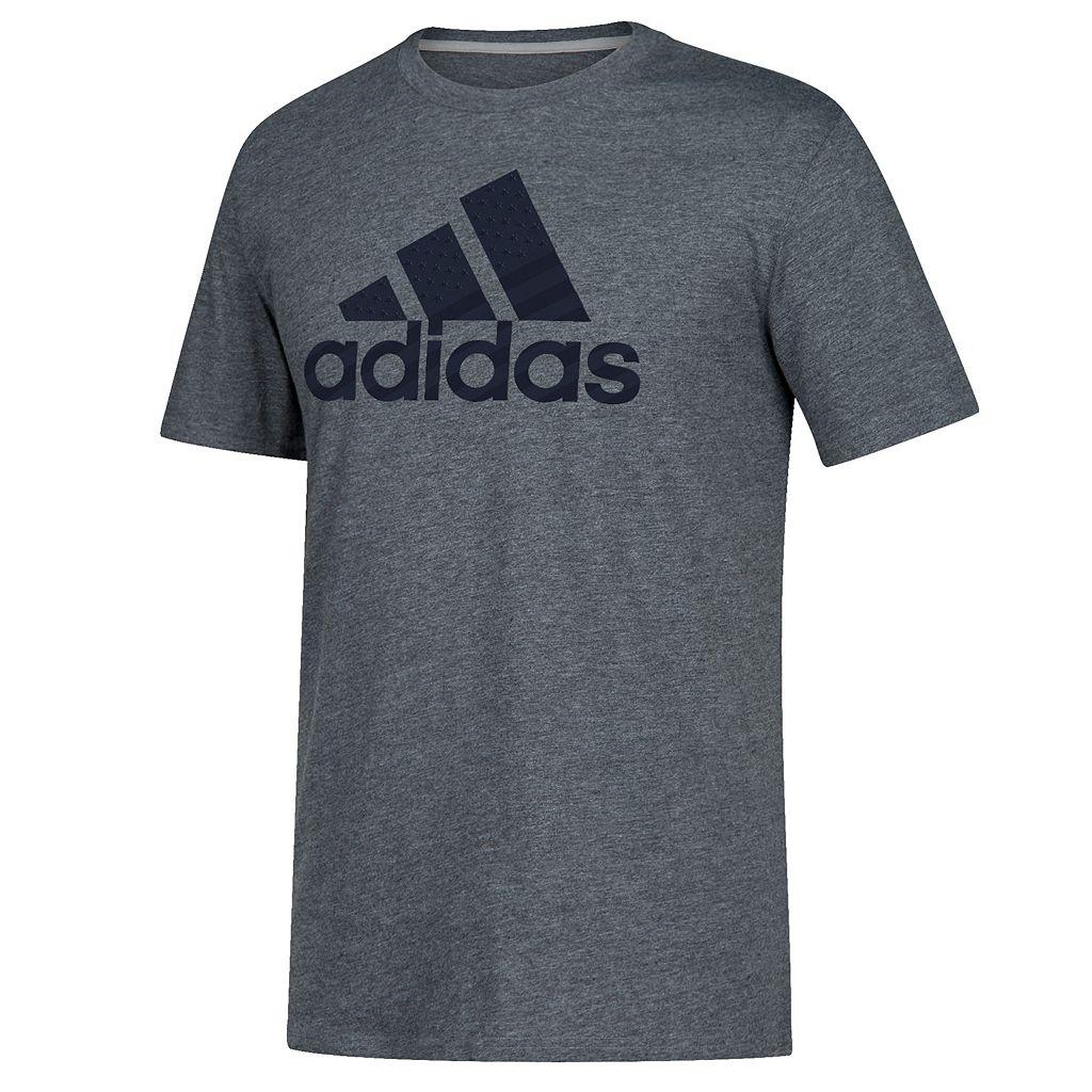 Men's adidas Flag Logo Tee