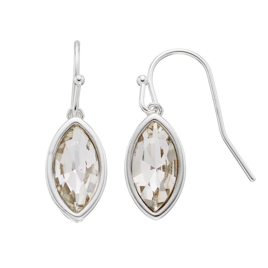 LC Lauren Conrad Nickel Free Marquise Drop Earrings