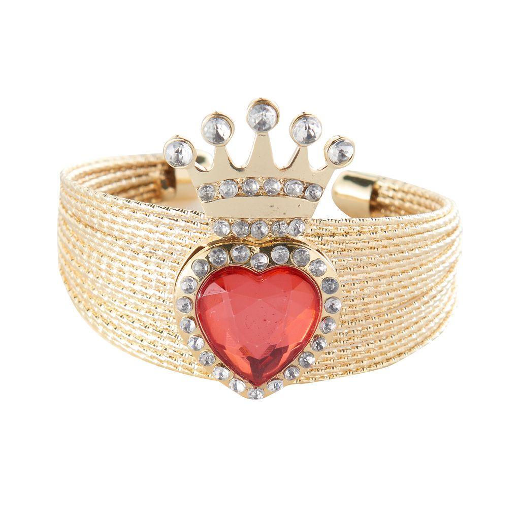 Disney's Descendants 2 Evie Girls 4-16 Heart Cuff Bracelet