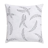 VCNY Feathers Metallic Throw Pillow