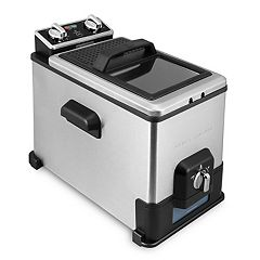 Emeril 17-Cup Deep Fryer with Oil Filtration System