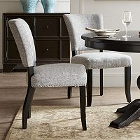 Madison Park Parler Armless Dining Chair 2-piece Set