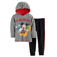 Disney's Mickey Mouse Baby Boy Thermal Hoodie & Pants Set