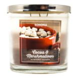 SONOMA Goods for Life™ 14-oz. Cocoa & Marshmallows Candle Jar