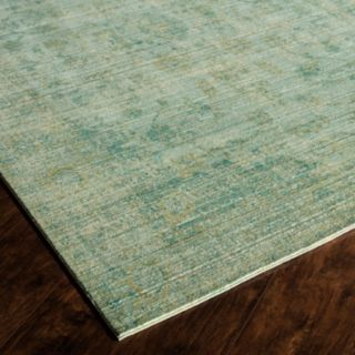 Rugs America Asteria Faded Framed Floral Rug