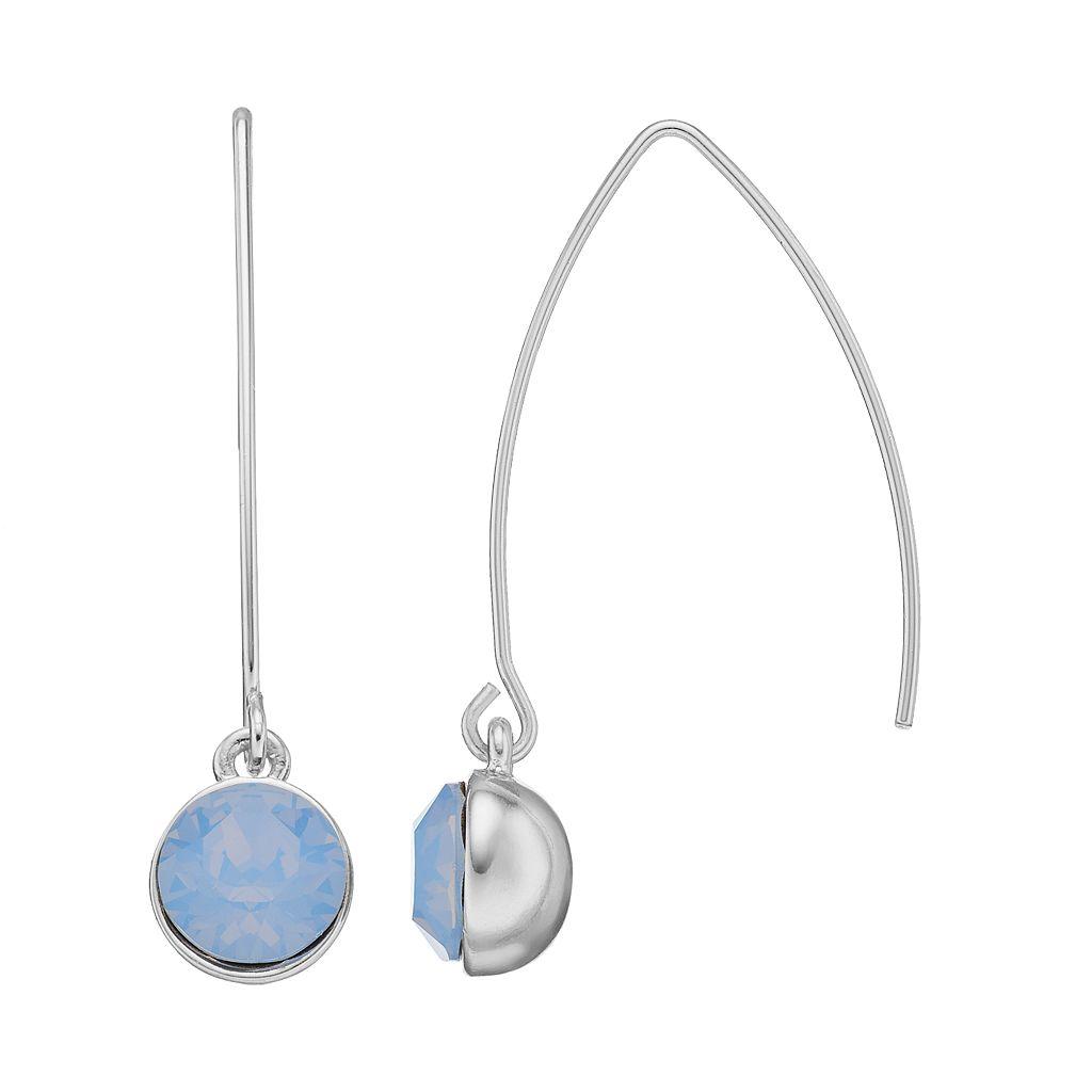 Dana Buchman Circle Drop Threader Earrings