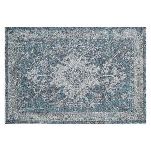 Rugs America Beverly Framed Medallion III Rug