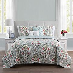VCNY Evelyn Reversible Quilt Set